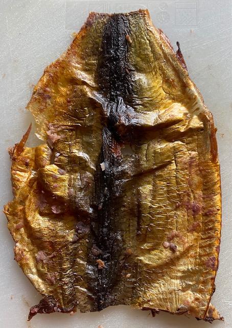 A red herring skin