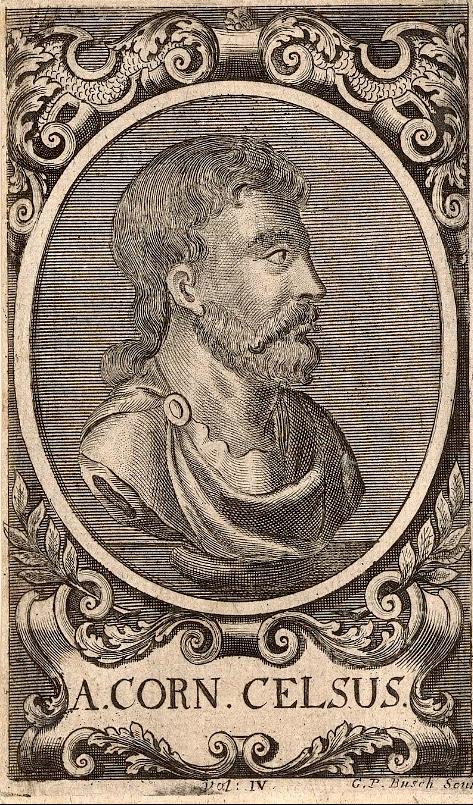 Aulus Cornelius Celsus (portrait)