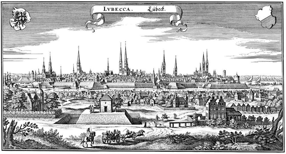 Lubeck in 1641