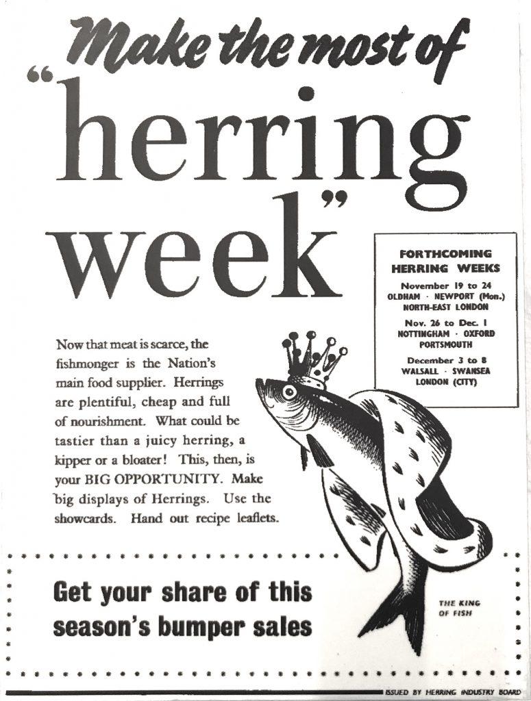 Herring Week advert
