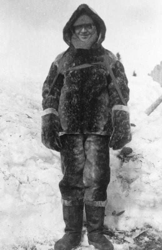 Clarence Birdseye in Labrador, c 1912