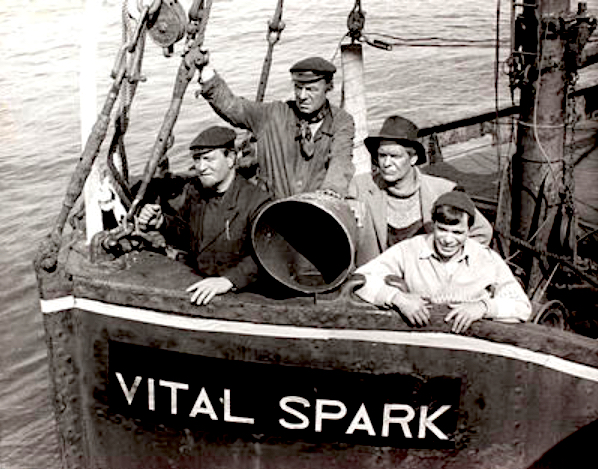 The crew of The Vital Spark