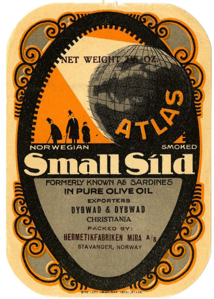 Label for 'Small Sild' formerly known as Sardines