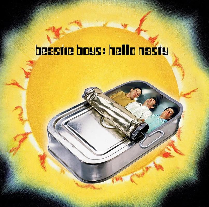 Beastie Boys' Hello Nasty album cover