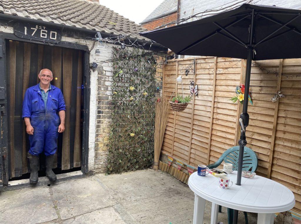 Will Buckenham at his Raglan Street smokehouse, Lowestoft