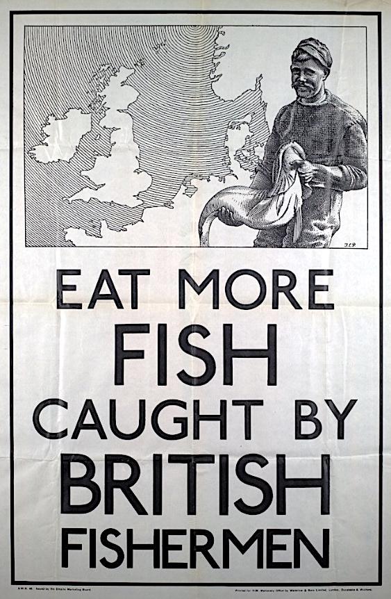 Eat More Fish poster