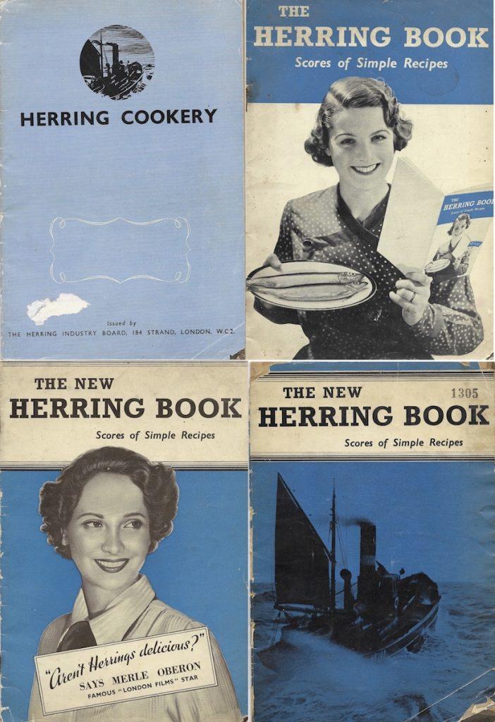 Herring Industry Board recipe booklets